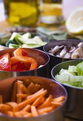 Cooking Ingredients. Vegetables