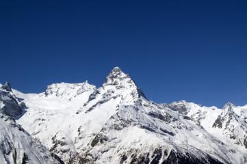 High Mountains. Caucasus