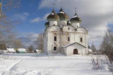 Russia, Kargopol. Resurrection church