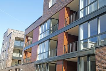 Stadthäuser in Kiel