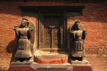 A sculpture at Bhaktapur 1.