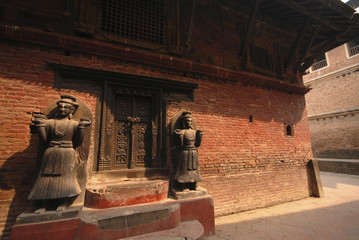 A sculpture at Bhaktapur 3.