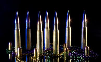 Fifty caliber ammo
