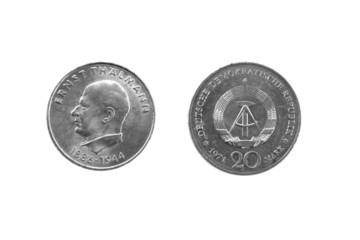 Ernst Thälmann 1886 - 1944 DDR 20 Mark 1971 A