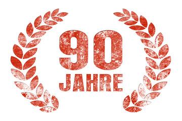 90 jahre