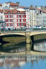 Le centre de Bayonne