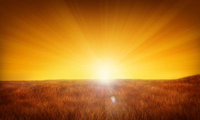 Sunrise/sunset illustration