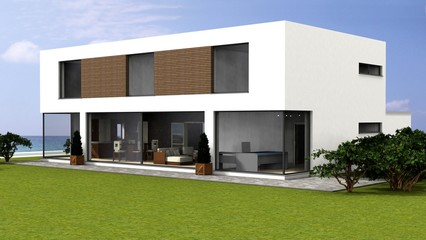 3d  detached house