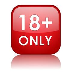 """""""18+ ONLY"""" Web Button (parental advisory explicit content)"""