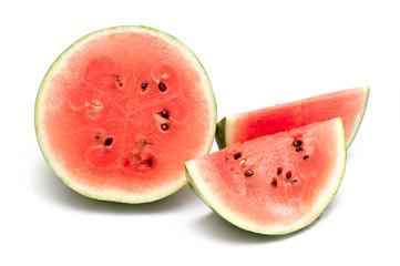 Melone geschnitten