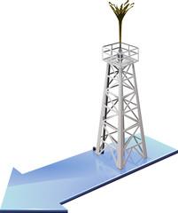 Oil discovery in progress