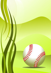 Vector baseball Background