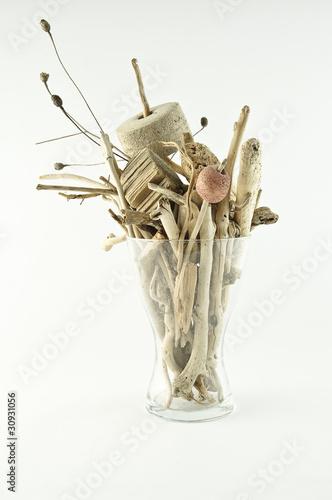 Bouquet de bois flott s photo libre de droits sur la for Bouquet bois flotte
