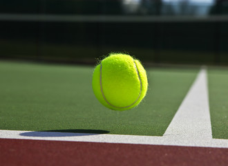 Tennis- Ball and Court