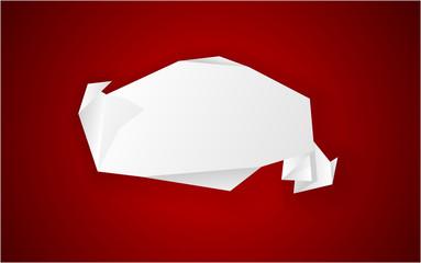 Origami paper.