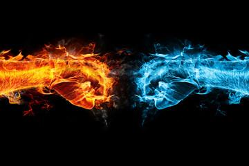 firefist vs icefist