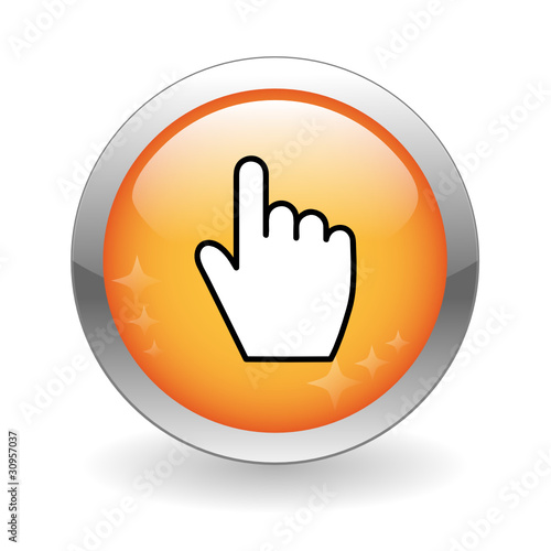 Instant Yes Button : Quot click here web button connection mouse cursor icon go