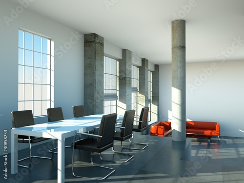 Loft Esszimmer Schwarz Weiss Stock Photo And Royalty Free Images On