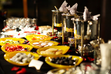 Buffet Style in hotel