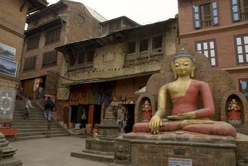 Big Buddha at Swayambunath 1.