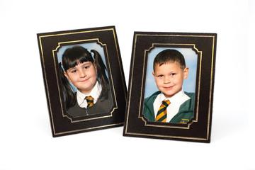 School children portraits