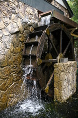 Mill water wheel