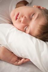 Charming sleeping boy