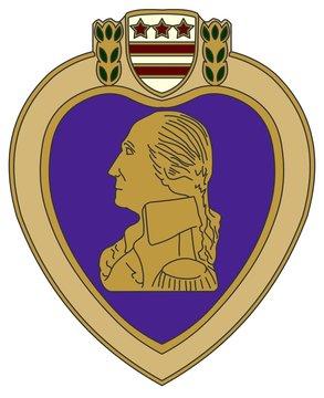 Purple Heart war medal