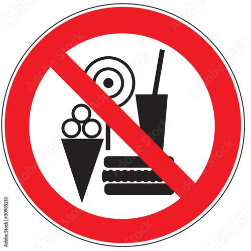 Quot Zeichen Essen Getr 228 Nke Und Eis Verboten Quot Stockfotos Und