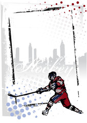 ice hockey frame
