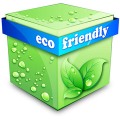 eco Friendly Cube
