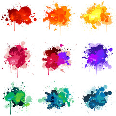 Vector paint splat