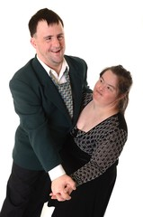 down syndrome couple danse