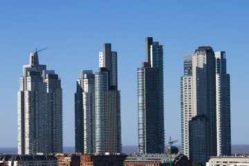 Wall Mural - Skyscrapers in Puerto Madero, Buenos Aires, Argentina