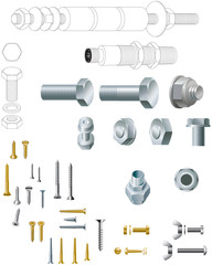 Nuts, bolts and woodscrews