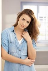 Portrait of attractive girl