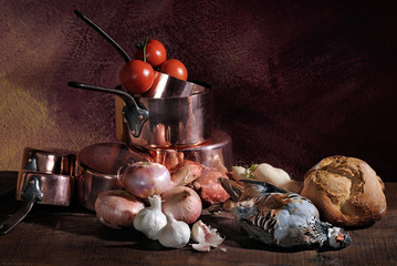 Pictorial still life of game