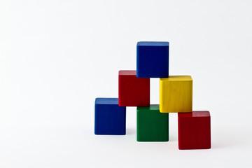 Colorfull building blocks
