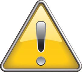 Ganarel warning icon symbol, icon