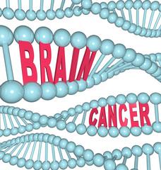Brain Cancer Words in DNA Strand
