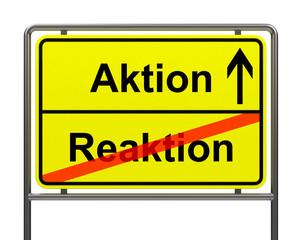 Aktion-Reaktion