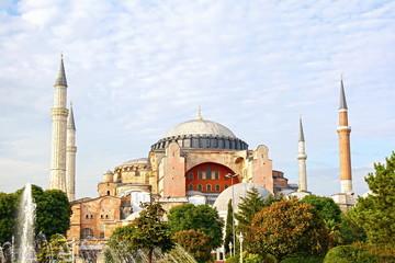Hagia Sophia famous historical building of Istanbul