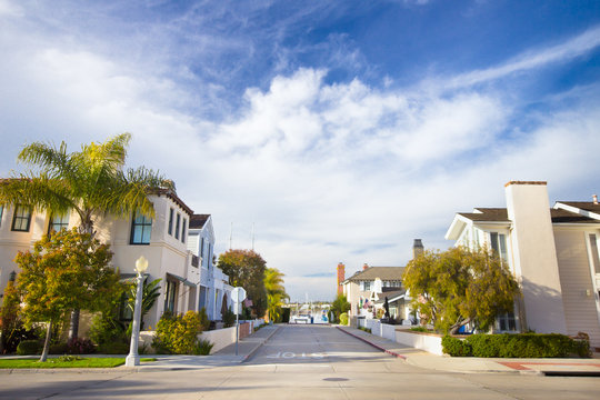 Homes in Affluent Southern California Community