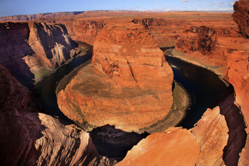 Rim Horseshoe Bend Glen Canyon Overlook Arizona