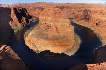 Horseshoe Bend Glen Canyon Overlook Colorado River Page Arizona