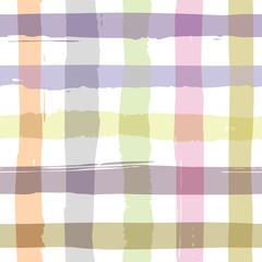 Brushed check pattern