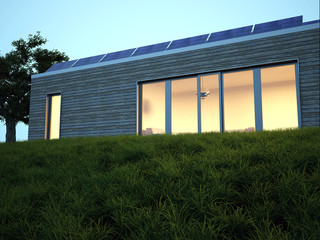 Solar Haus photovoltaik