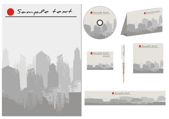 Vector Template for Business artworks.