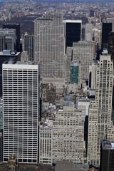 New york buildings in midtown