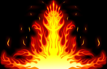Fire card